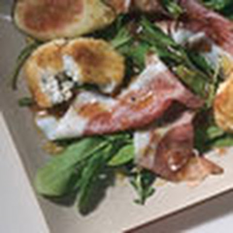 Fig and Prosciutto Sandwiches with Whipped Cheese and Honey Recipe ...