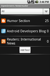 OI News Reader - screenshot
