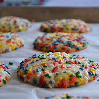 Vanilla Butter Cookies Sprinkles Recipes