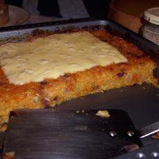 Aish's Grated Potato Kugel