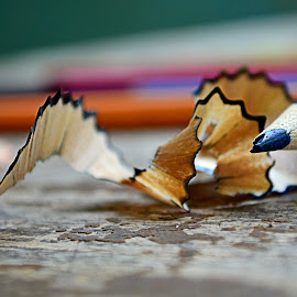 by Kosasih Harris - Artistic Objects Education Objects ( blue, pencil, object,  )