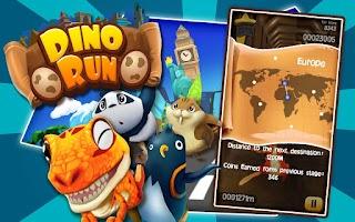 Screenshot of Dino Run: Jurassic Escape
