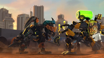 Screenshot of LEGO® Hero Factory Invasion DK