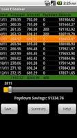 Screenshot of Loan Dissolver Lite