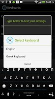 Screenshot of Greek Keyboard for iKey