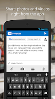Screenshot of Yammer