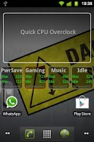 Screenshot of Quick CPU Overclock PRO