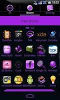 Screenshot of GoSocial(Pu) Theme Go Launcher