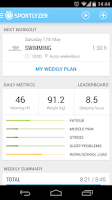 Screenshot of Sportlyzer GPS Sports Tracker