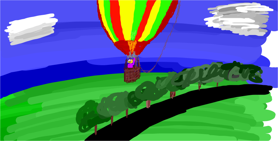 Draw My Thing in 5 minutes (Hot Air Balloon)