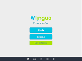 Screenshot of Learn Phrasal Verbs - Wlingua
