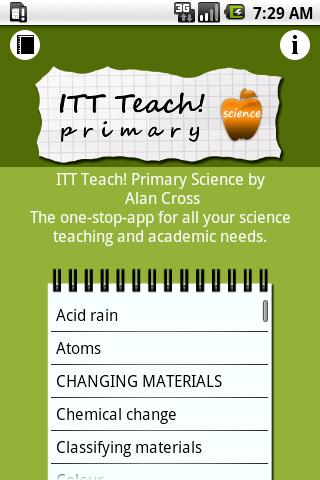 ITT Teach Primary Science