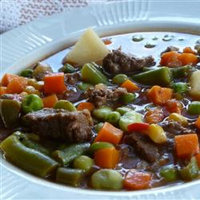 Texas Beef Soup