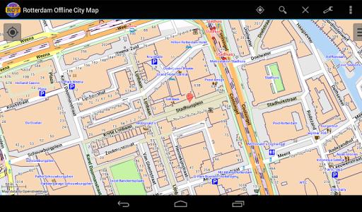Rotterdam Offline City Map - screenshot