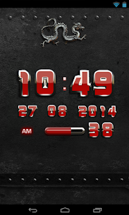 How to download dragon digital clock red 2.30 unlimited apk for laptop