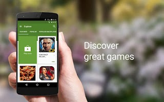 Screenshot of Google Play Games