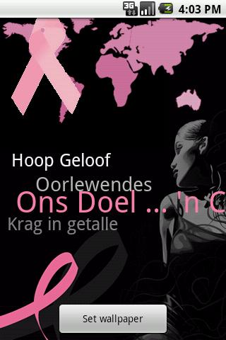 Afrikaans - Breast Cancer App