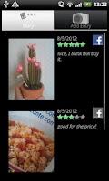 Screenshot of Rating Diary