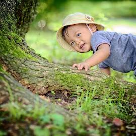 The adventures in the jungle by Darlis Herumurti - Babies & Children Children Candids