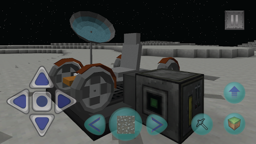Block Craft Space Edition - screenshot