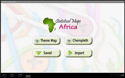 Statistical Maps Africa