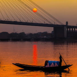 Majhi re... by Abhisek Das - Transportation Boats