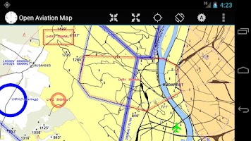 Screenshot of Open Aviation Map