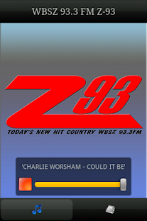 Z-93 New Hit Country - screenshot