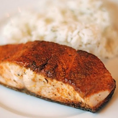 Spiced Rubbed Salmon