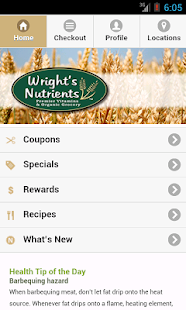 Wright's Nutrients - screenshot