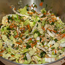 Asian/Oriental Cabbage Salad