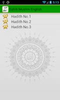 Screenshot of Sahih Muslim English