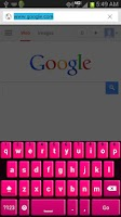 Screenshot of Pink Keyboard