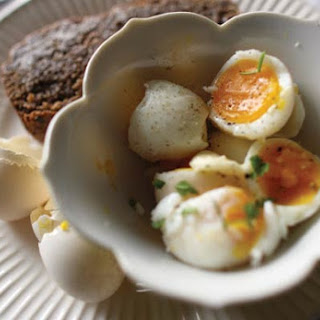 Soft-Boiled Eggs and Toast