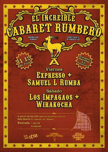 El Cabaret Rumbero!!!!