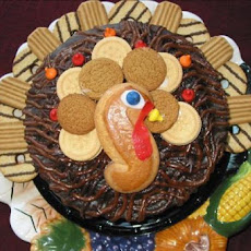 No Bake Turkey Cake