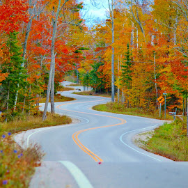 Autumn in Wisconsin. by Binod Khadka - Landscapes Travel ( wisconsin, nature, autumn, fall, travel, landscape,  )