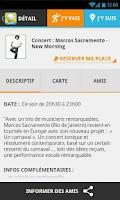 Screenshot of Balumpa sortir soirée concert