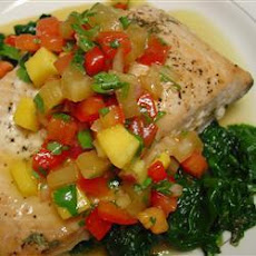 Salmon with Salsa