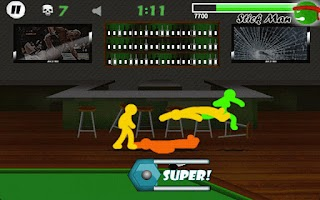 Screenshot of Stickman Fighter - LITE