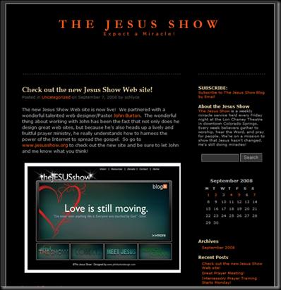 The Jesus Show Blog