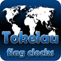 Tokelau flag clocks icon