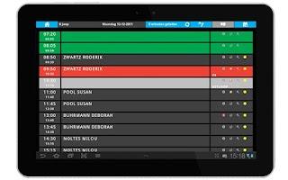 Screenshot of ISV Instructeurs applicatie