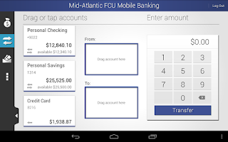Screenshot of MAFCU Mobile Banking App