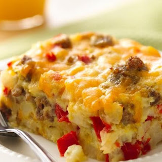 Gluten-Free Impossibly Easy Breakfast Bake