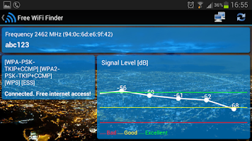 Screenshot of Free WiFi Internet Finder