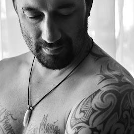 Im not a bad boy by Rhenz Adams - People Body Art/Tattoos ( badboy, tattoos, portraits, man, nice guy, 14tattoos )