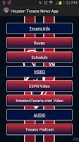 Screenshot of Houston Texans News App