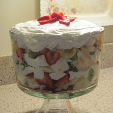 Fantastic Strawberry-Banana Trifle