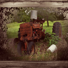 ----------The Old Tractor---------- by Neal Hatcher - Transportation Other